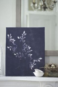 A #DIY for bright days: make-your-own Inkodye botanical sun prints.