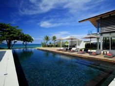Phang Nga Villa Rental: Stunning Contemporary Private Beachside Residence   HomeAway Luxury Rentals