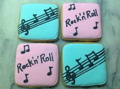 Rock'n'Roll Cookies for Issy's Milky Way