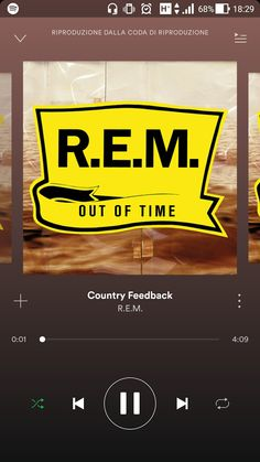 """R.E.M. - Country Feedback  """"...Crazy, all the lovers have been tagged, a hotline, a wanted add. It's crazy what you could've had. It's crazy what you could've had. It's crazy what you could've had. I need this... I need this.""""..."""