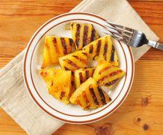 grilled pineapple for Lag B'Omer