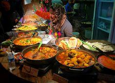 Indian,Camden Market Street food, January 2015
