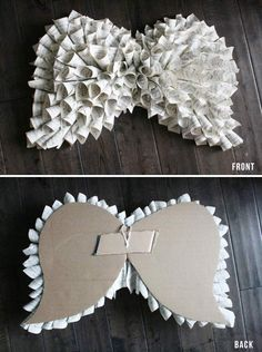 craft night: book page angel wings