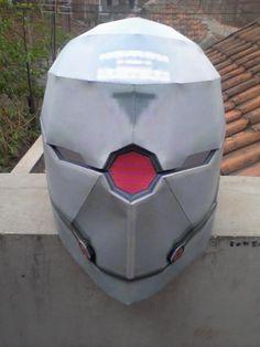 Cyborg Ninja (Metal Gear) Helmet Papercraft