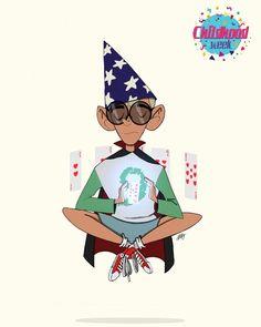 richkenneyart//A little late but here's my first entry for childhood week . . . #sketch #drawing #digital #digitalart #digitalpainting #art #illustration #instaart #autodesk #autodesksketchbook #kids #kid #child #childhood #childhoodweek #childhoodweek2018 #magic #magician