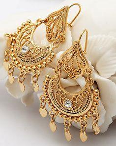 Beautiful Gold Earrings Designs