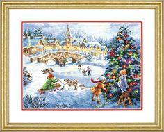 """<b>Набор для вышивания крестом</b> """"Пернатый друг Санты//Santa's ..."""