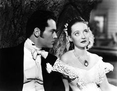 Henry Fonda and Bette Davis in Jezebel directed by William Wyler, 1938
