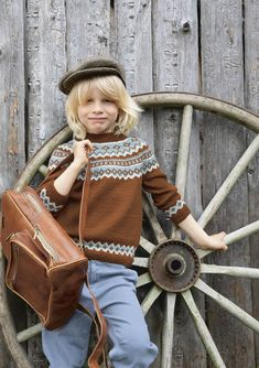 Sandnes Garn Tema Norwegian Icons for Adults + Kids - Mother Knitter Boys Sweaters, Cardigans, Sweaters For Women, Men Sweater, Fair Isle Knitting Patterns, Knitting Designs, Skagen, Super Hero Outfits, Knit Vest