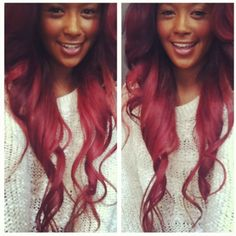 Omg im thinking of goin this color more and more! Beautiful! #wk