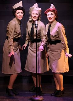 Jordan Yentz Sarah Larson Casi Maggio in A Musical Tribute to the Andrews Sisters at Theo Ubique.  sc 1 st  Pinterest & 14 best Andrews Sisters Costume Search images on Pinterest | 1940s ...