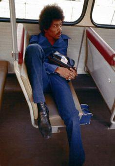 Rare Photo Of Jimi Hendrix