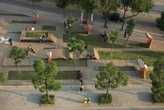 Kic Park located at Yangpu, Shanghai, China is a project by Architecture Studio. This project was submitted to Architecture News Plus (ANP) by Architecture Studio. Landscape And Urbanism, Modern Landscape Design, Landscape Architecture Design, Urban Landscape, Parque Linear, Rustic Landscaping, Landscaping Ideas, Public Space Design, Public Spaces