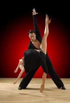 One of my all-time favorite dance couples, Joanna Leunis and Michael Malitowski! Perfection!