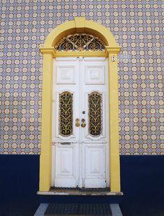 Door, Ferragudo, Portugal