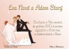 Svadobné oznámenie - SO068