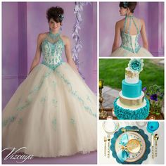 Blue Themed Quinceanera | Quinceanera Ideas |