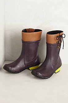 Anthro -  sorel rain boots