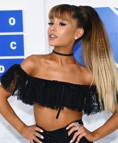 Get The Look! Shop our Thin Black Velvet Choker to get Ariana Grande's look. FREE US Shipping on all orders over $20!