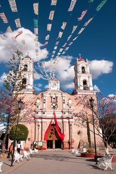 Iglesia de Tonatico.  Mexico,a small town the people were so  welcoming. Loved it!