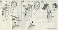 Walkman instruction manual (1982)