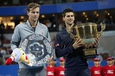 London Contenders: Novak Djokovis & Tomas Berdych. Can One of Them Win?