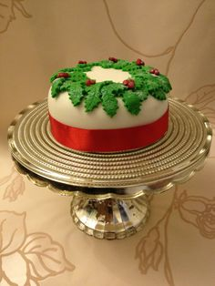 Dimples christmas cake