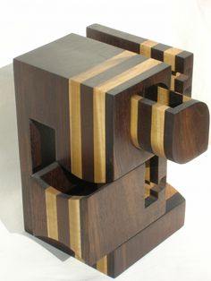 Geometric band saw box.