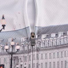 London Ride - full YKK zip. Hexa-cool polyester