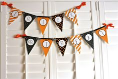 Trick or Treat, a printable DIY Halloween party banner for $6.00 at etsy.com