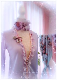 Fairytale Collection - purple lavender lilic spring top  leather designer couture  lace frenchlace chic classy fashion womenswear ladieswear vintage high-fashion fashion cardigan https://www.facebook.com/emilycheongcouture
