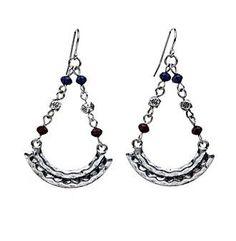 Ruff Hewn Crescent Chandelier Drop Earrings