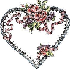 Dibujos de corazones para imprimir   Pinterest