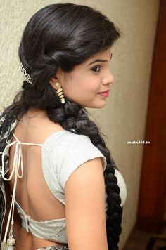 Tollywood Beauty #AlekhyaAngel in Saree at Kai Raja Kai Telugu Movie Songs Launch.