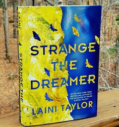 Look at this gorgeous book! If you missed our story I did a little bookmail unboxing of this beauty  yesterday. It's a finished copy of Strange The Dreamer by Laini Taylor @lainitaylor. The book hits shelves March 28th 2017.  Thank you to  @littlebrown for sending it to us. I'm a few chapters in and I love it! We were all in awe of both covers. Definitely one to add to your TBR list.  . Here is a little about the book: A new epic fantasy by National Book Award finalist and New York Times…