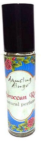 Dancing Dingo Natural Botanical Perfume Moroccan Rose .35 oz Roll On B – Robinsons Nest