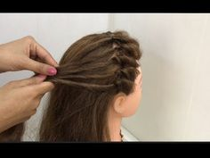 2 Beautiful Hairstyle Looks for Diwali : Easy Festive Hairstyles How to style front hair for Diwali Party or Function. Hi Girls, Here I am sharing two beauti. Open Hairstyles, Bun Hairstyles For Long Hair, Hairstyle Look, Braided Hairstyles, Indian Hairstyles, Front Hair Styles, Curly Hair Styles, Hair Upstyles, Long Hair Video