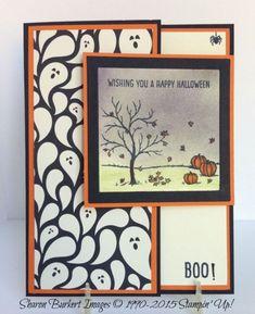 Happy Scenes latch card