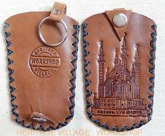 Кул Шариф , Казань . Тиснение  на кожаном футляре для ключей .  #kazan . #tatarstan , #казань, #татарстан , #кул_шариф , #сувениры , #leathercraft , #мечеть