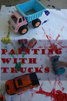 Painting with Trucks