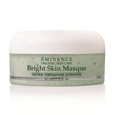 Lighten and even the skin tone naturally and address dark spots or hyperpigmentation with a weekly deep treatment masque. Check out the #eminenceorganics Bright Skin Masque today. You'll love it!