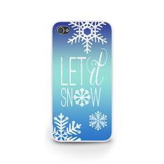 Let It Snow Version 2.0 Phone Case #iphone #samsung #christmas