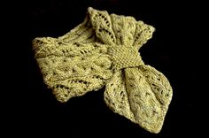 Ravelry: Lace and Cables Scarf by Christy Hills
