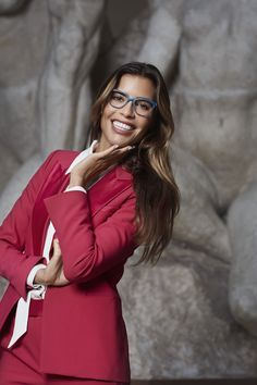 The new Dimples DL glasses. Show casing what you can do with printed eyewear. Made without any screws. It's lightweight eye glasses at its finest. Danish eyewear design at its best. Cool Glasses, Eye Glasses, Eyewear Trends, Girls Wear, Dimples, Danish, 3d, Printed, How To Wear
