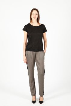 Menzo Pants Olive by Swildens