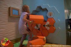 Copernicus Science Center in Warsaw Buzzz!! Gallery for kids from 3 - 6 Interactive exhibition concept & design Designer: Karolina Perrin visit: KarekDesign.com