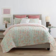 jcp | JCPenney Home™ Cotton Classics Jardin Reversible Quilt & Accessories