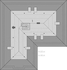 Projekt domu Alan IV G2 multi-comfort 137,75 m2 - koszt budowy - EXTRADOM Floor Plans, Future House, Floor Plan Drawing, House Floor Plans
