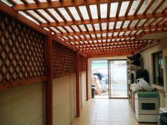 Pergola Attached To House Diy Canopy, Pergola Canopy, Diy Pergola, Pergola Kits, Pergola Cover, Pergola Ideas, Small Pergola, Patio Ideas, Ideas Terraza