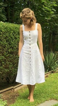 Dress Sewing Patterns, Maternity Sewing Patterns, Ladies Dress Pattern, Linen Dress Pattern, Sew Pattern, Tilly And The Buttons, Sewing Clothes, Diy Clothes, Pretty Dresses